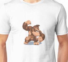 Minimalist Donkey Kong from Super Smash Bros. Brawl Unisex T-Shirt