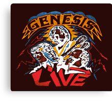 GENESIS LIVE Canvas Print