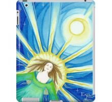 Expansion into higher consciousness iPad Case/Skin