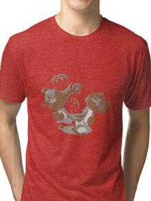 Minimalist Ice Climbers from Super Smash Bros. Brawl Tri-blend T-Shirt