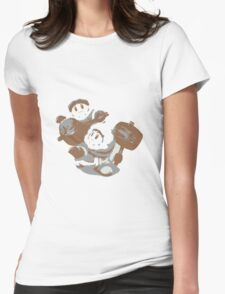 Minimalist Ice Climbers from Super Smash Bros. Brawl Womens Fitted T-Shirt