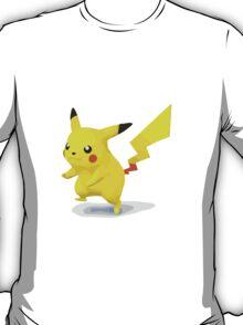 Minimalist Pikachu from Super Smash Bros. Brawl T-Shirt