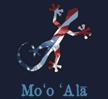 All American Hawaiian Gecko Kids Tee