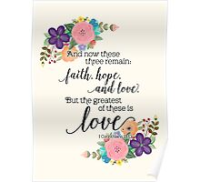 The Greatest of These Is Love Poster