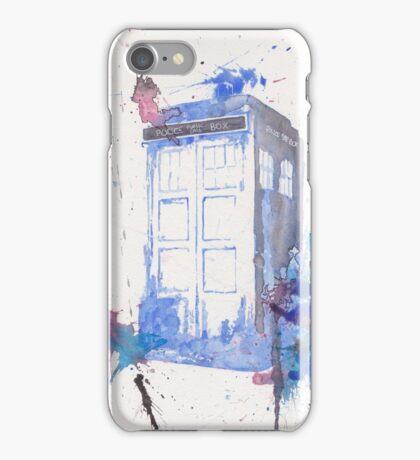 Tardis009 iPhone Case/Skin