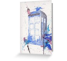 Tardis009 Greeting Card
