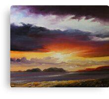 Dingle sunset Canvas Print