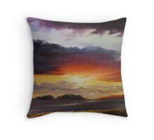 Dingle sunset Throw Pillow