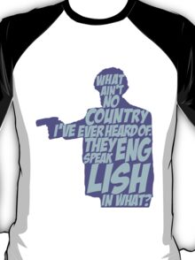 Pulp Fiction - Jules: They Speak English in What? T-Shirt