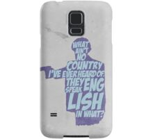 Pulp Fiction - Jules: They Speak English in What? Samsung Galaxy Case/Skin