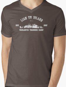 Vigilante Training Camp (Distressed) Mens V-Neck T-Shirt