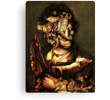 Gaurdian of the ChildS Bed. Canvas Print