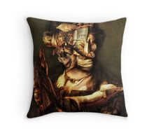 Gaurdian of the ChildS Bed. Throw Pillow