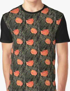 Two Aspen Leaves Graphic T-Shirt