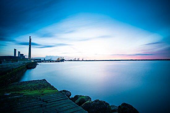 Dublin Bay, Ireland by Alessio Michelini