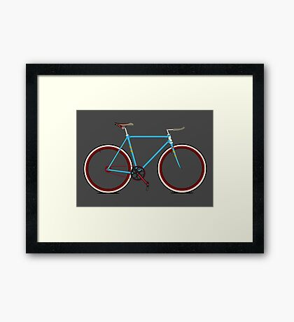 Bike Framed Print