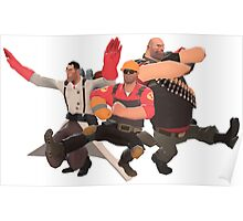 Team Fortress 2 - Kazotsky Kick (Russian Dance) Poster