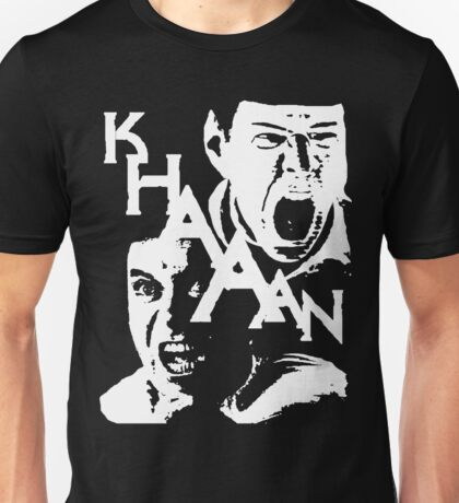 Star Trek Khan Unisex T-Shirt