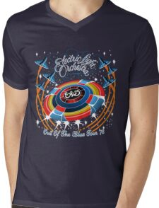 E.L.O. Out of The BLUE TOUR Mens V-Neck T-Shirt