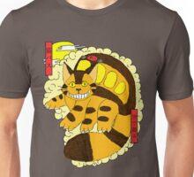 Catbus Ukiyo-e Unisex T-Shirt