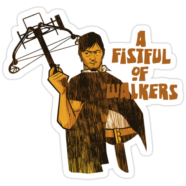 A Fistful of Walkers! by nikholmes