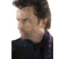 David Tennant Kilgrave Low Poly Photographic Print