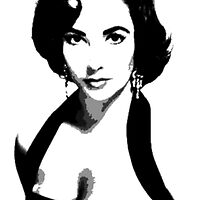 Elizabeth Taylor by Crystal Potter