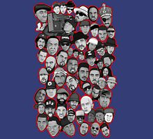 old school hip hop legends collage art Unisex T-Shirt