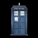 Dr Who The Tardis iPhone Case by Nathan Rogers