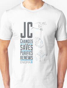 Enigma- JC V-shirt T-Shirt