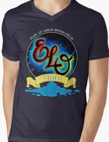 E.L.O. TIME TOUR 1981 Mens V-Neck T-Shirt