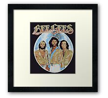 Bee Gees DISCO BALL Framed Print