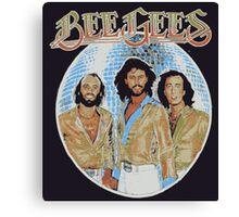 Bee Gees DISCO BALL Canvas Print