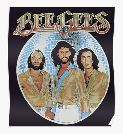 Bee Gees DISCO BALL Poster