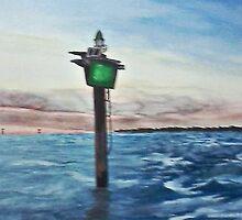 Houston Ship Channel - Trinity Bay by kmichaelholmes