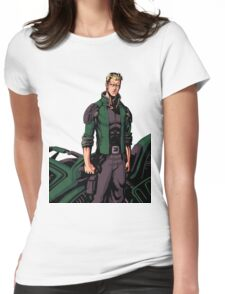 Jeremy Hunter Cover Stance Womens Fitted T-Shirt