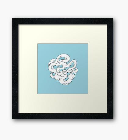 Cirrus///2 Framed Print