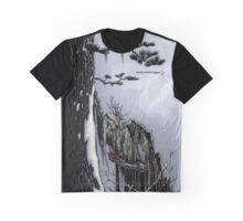 The Snow Painter - Earth Beasts Awaken creature art apparel Graphic T-Shirt