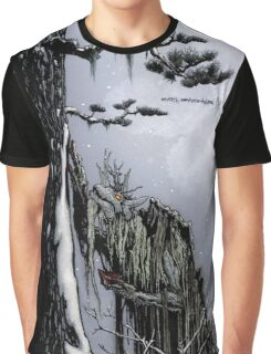 The Snow Painter - Earth Beasts Awaken creature art apparel Graphic T-Shirt