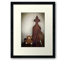 Wonder What Bears Pray For? Framed Print