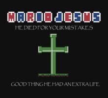 Mario Jesus by CaptainJeff