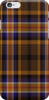02329 Los Angeles County, California E-fficial Fashion Tartan Fabric Print Iphone Case by Detnecs2013