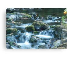 grist mill waterfalls Canvas Print