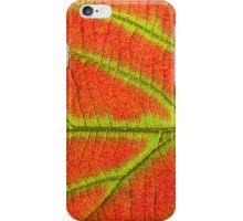 Close up Of Leaf iPhone Case/Skin