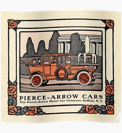 Pierce-Arrow Cars 1914 Poster