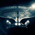 The Enterprise D - Star Trek The Next Generation. by Nicholas Griffin