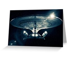 The Enterprise D - Star Trek The Next Generation. Greeting Card