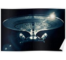 The Enterprise D - Star Trek The Next Generation. Poster