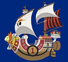 Thousand Sunny by jpmdesign