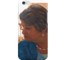 Proud mom of the groom iPhone Case/Skin